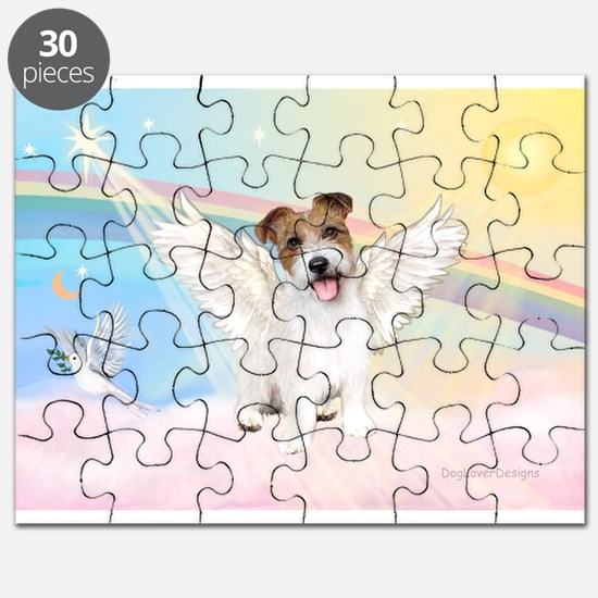 Angel /Jack Russell Terrier Puzzle