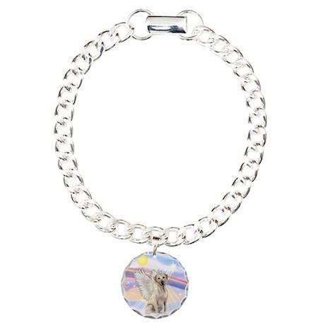 Angel Labrador Charm Bracelet, One Charm