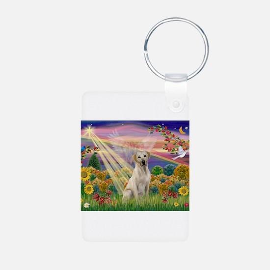 Autumn Angel / Lab (y) Keychains