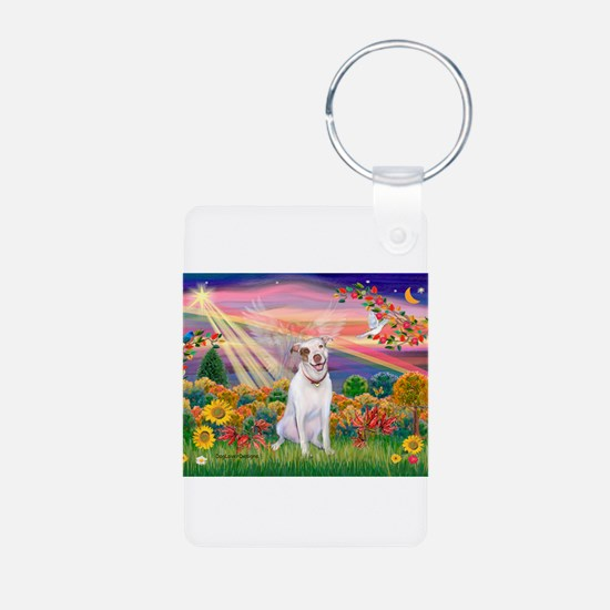Autumn Angel / Pit Bull Keychains