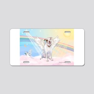 Dog Angel / Pit Bull Aluminum License Plate