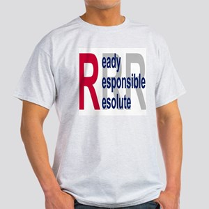 Coast Guard Auxiliary <BR>Grey T-Shirt