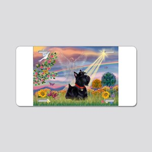 Cloud Angel & Scotty Aluminum License Plate