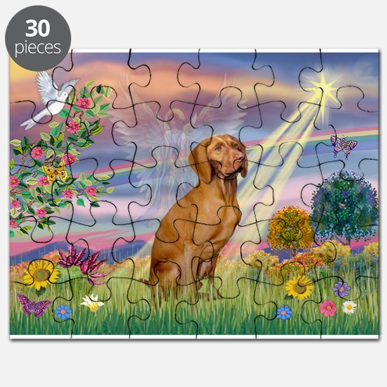 Cloud Angel / Vizsla Puzzle