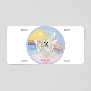 Chanelle Angel Aluminum License Plate