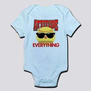 Attitude-Softball Infant Bodysuit