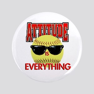 Attitude-Softball Button