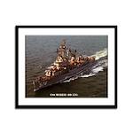 USS MURRAY Framed Panel Print