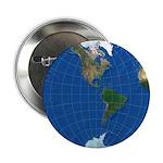 "World Map Sphere 2: 2.25"" Button"