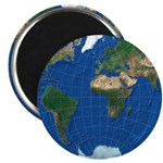 World Map Sphere 1:: Magnet