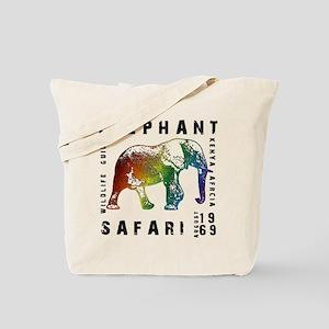 Elephant Safari Tote Bag