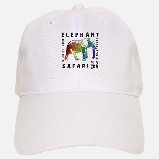Elephant Safari Baseball Baseball Cap