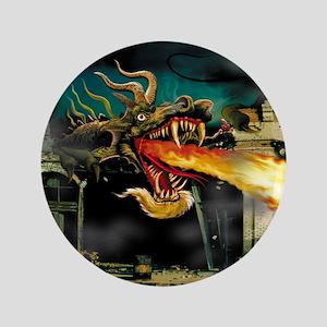 "Mutant Dragon 3.5"" Button"