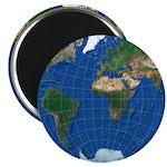 "World Map Sphere 1: 2.25"" Magnet (10x)"