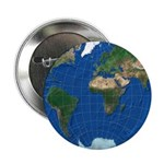 """World Map Sphere 1: 2.25"""" Button (10 pack)"""