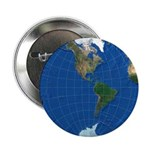 """World Map Sphere 2: 2.25"""" Button (10 pack)"""