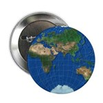 """World Map Sphere 3: 2.25"""" Button (10 pack)"""