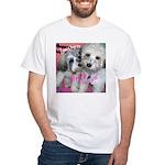 Lowchen Puppy Love - White T-Shirt