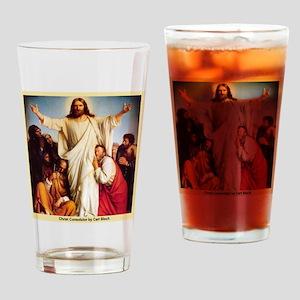 Christ Consolator Drinking Glass
