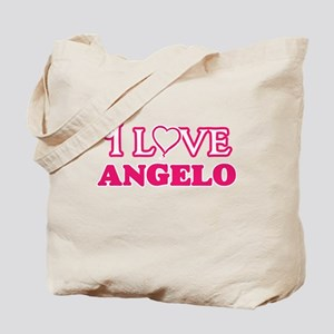 I Love Angelo Tote Bag