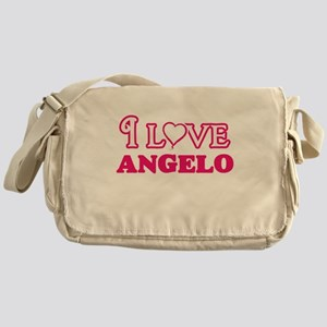 I Love Angelo Messenger Bag