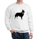 Collie Breast Cancer Support Sweatshirt