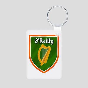 O'Reilly Family Crest Aluminum Photo Keychain
