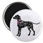 Dalmatian Breast Cancer Support Magnet