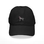 Dalmatian Breast Cancer Support Black Cap