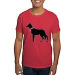 German Shepherd Breast Cancer Support Dark T-Shirt