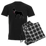 German Shepherd Breast Cancer Support Men's Dark P