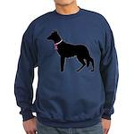 German Shepherd Breast Cancer Support Sweatshirt (