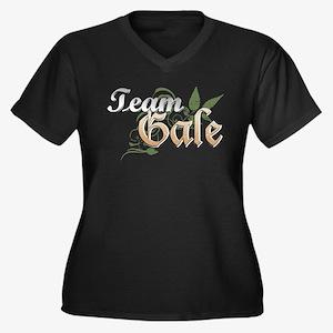 Team Gale Dark Women's Plus Size V-Neck Dark T-Shi