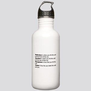 Car handling terms Stainless Water Bottle 1.0L
