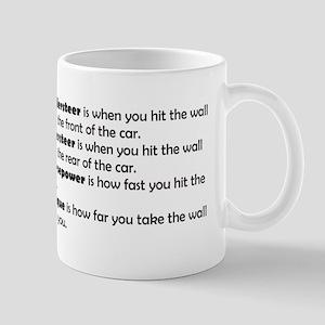 Car handling terms Mug