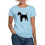 Fox Terrier Breast Cancer Support Women's Light T-