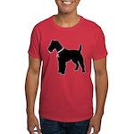 Fox Terrier Breast Cancer Support Dark T-Shirt