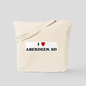 I Love Aberdeen Tote Bag