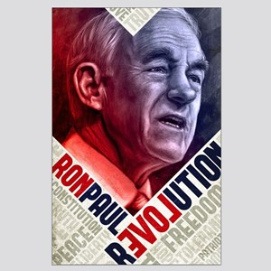 23x35 Ron Paul Revolution Painting Poster