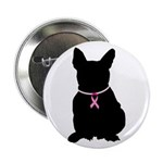 French Bulldog Breast Cancer Support 2.25