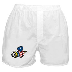 America Bee Boxer Shorts