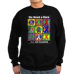 We Need a Cure Sweatshirt (dark)
