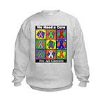 We Need a Cure Kids Sweatshirt