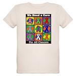 We Need a Cure Organic Kids T-Shirt
