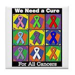We Need a Cure Tile Coaster