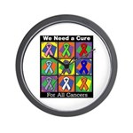 We Need a Cure Wall Clock