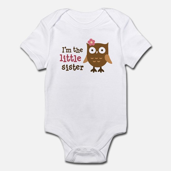 Little Sister - Mod Owl Infant Bodysuit