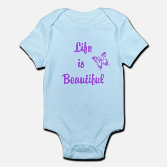 Life is Beautiful Infant Bodysuit