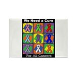 We Need a Cure Rectangle Magnet (100 pack)