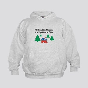 All I Want for X-Mas Kids Hoodie
